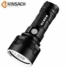 LED Flashlight USB Rechargeable Linterna Waterproof Lamp Ultra Bright