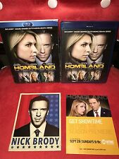 Homeland: The Complete Second Season (Blu-Ray, 3-Disc Set) + Collectible Cards