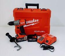 "Milwaukee 2806-22 M18 FUEL 1/2"" Hammer Drill/Driver Kit w/1-Key compatible"
