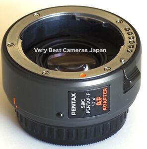 New  SMC PENTAX F 1.7X AF Adapter 1.7 X Teleconverter Lens
