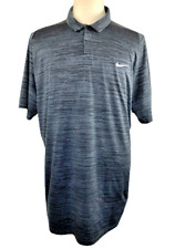 New listing Nike Tiger Woods Collection Dri-Fit Vented Polo Shirt Snap Buttons Sz XXL 2X