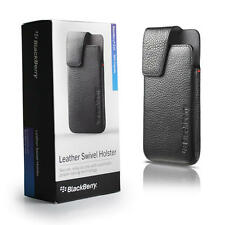 OEM Blackberry Z10 Leather Swivel Holster Case - New - Retail Packaging