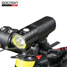 GACIRON 1000 Lumen Cycling Front Handlebar Light 4500mAh Waterproof LED Light