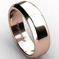 Wedding Rose Gold 14 Carat Fine Rings
