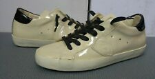 Philippe Model women's beige sneakers size 37(4UK) - Made in Italy, vintage look