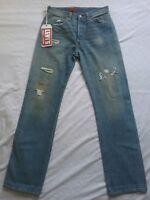 NWTG Levis Vintage LVC 1954 501XX Men SZ 29X33 Distressed  Blue Jean Selvedge