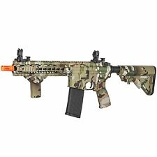 Lancer Tactical Camouflage Mk5 SMR Airsoft AEG Airsoft Carbine Rifle LT-331C