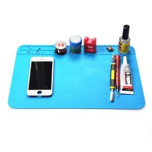 Anti-Static Heat Insulation Silicone Soldering Repair Mat Phone PC Work Desk Pad