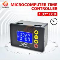 DC 12V 24V AC 110V 220V Digital Cycle Timer Delay Relay Module with Dual LED