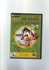 HUGO : THE SECRETS OF THE FOREST - KIDS CHILDS PC EDUCATIONAL BIOLOGY GAME - VGC