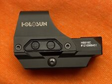 Holosun Hs510C Solar Power Holographic Red Dot Sig
