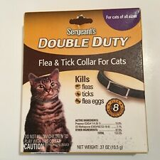 Sergeant's Double Duty Flea & Tick Collar For Cats 12 Weeks and Older