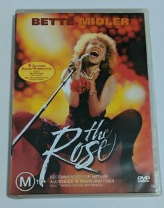 THE ROSE MOVIE DVD GOOD CONDITION MUSIC DRAMA ROMANCE BETTE MIDLER