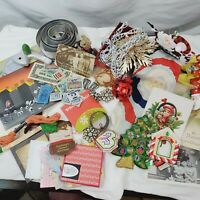 Junk Drawer Lot Vintage Photos Stamps Postcards Christmas Ration Coupons More