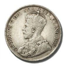 Canada Newfoundland King George V 50 Cents 1918  Very Fine KM-12