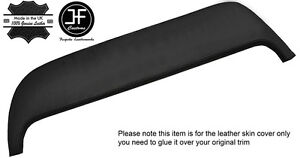 BLACK STITCHING DASH DASHBOARD PAD LEATHER COVER FITS WESTFIELD
