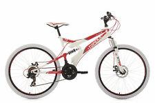KS Cycling VTT Topeka tout Suspendu 183m 43 cm - Blanc