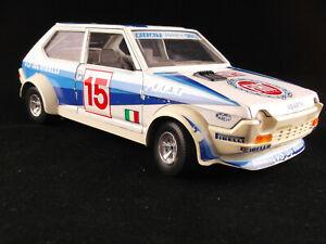 Burago Bburago 1/24 Fiat Ritmo/Strada Abarth Monte Carlo Rally 1980 #15 Bettega