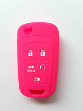 Hot Pink Key Cover for Chevrolet Camaro Cruze Volt Equinox Spark Malibu Sonic