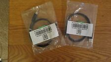 2 NEW 0J2711 3ft USB 2.0 Type A Male to Mini-B Male Cable - Black. for camera