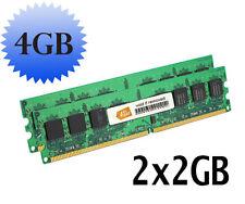 4GB (2x2GB) Memory RAM for eMachines EL1300G-02w Desktop