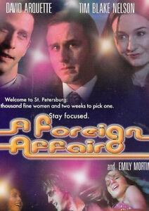 FOREIGN AFFAIR DVD David Arquette, Emily Mortimer Rare Movie