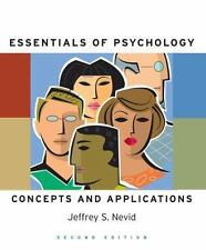 Essentials Of Psychology: Concepts and Applications, Nevid, Jeffrey S., Good Boo