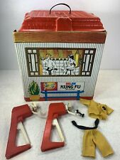 VINTAGE 1973 BIG JIM KUNG FU STUDIO MATTEL Muscle Mover Outfit Playset 7321