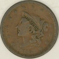 1938 Coronet Head Large Cent. VG. RAW3599/BH