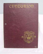 1978 South Windsor High School Yearbook Centurion Hartford CT