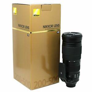 ** Nikon AF-S Nikkor 200-500mm f/5.6E ED VR -**