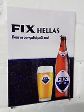 Fix hellas greek beer sign greece Retro metal Aluminium  vintage pub bar signs