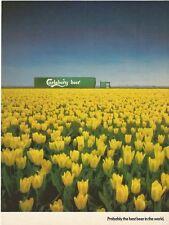 CARLSBERG Danish Beer 1987 Vintage Print Ad # 73 9