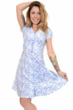 Casual Retro Dresses for Women with Buttons