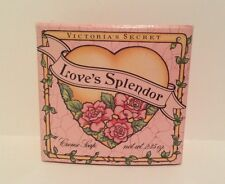 2 Victoria's Secret LOVE'S SPLENDOR Creme Soaps~Rare~2.35 oz Made USA VALENTINE