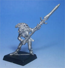 CITADEL - Wood Elves - WOOD ELF WARDANCER WITH SPEAR (a)  Metal - 1980s - Army