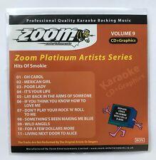 Zoom Karaoke Platinum Artists Series Volume 9 CD+G - Hits Of Smokie