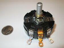 Clarostat 1k Ohm Wire Wound 4 Watt Potentiometer 12 Shaft Ra30 Nos