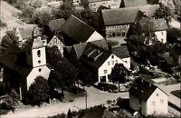 Wehrden Kreis Höxter alte AK 1960 Partie a.d. katholische Kirche Pension Firch