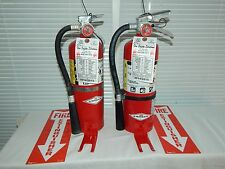 Fire Extinguisher - 5Lb ABC Dry Chemical  - Lot of 3 [SCRATCH&DENT]