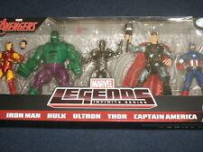 Marvel Legends Avengers Gift Set Captain America,Thor,Iron Man, Hulk,Civil War