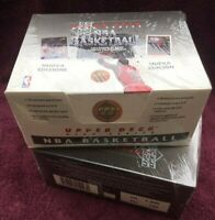 Lot of 2 1992-1993 Upper Deck Basketball European High Series Factory Sealed Box