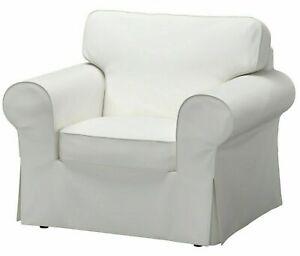 New Ikea EKTORP Chair (Armchair) COVER  Vittaryd White 303.217.40
