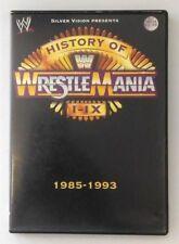 History of WrestleMania I - IX 1985 -1993 - DVD
