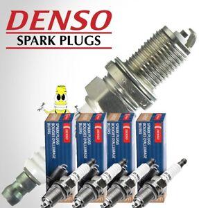 Denso (6008) W14-U U-Groove Spark Plug Set of 4