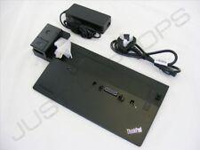 NUOVO Lenovo Thinkpad T450 T450s Ultra Docking Station Dock Inc 90W adattatore CA
