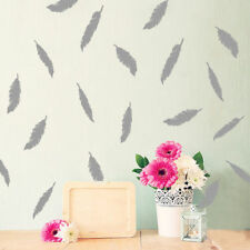 Removable Cute Feather DIY Wall Stickers Vinyl Mural Home Room Decal Decoration