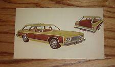 Original 1974 Chevrolet Caprice Estate Station Wagon Post Card 74 Chevy