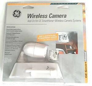 GE Smart Home Wireless Camera Add-on For Wireless Camera Systems New