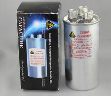AIR CONDITIONER  MOTOR 30UF+5UF 450Volt 30+5 UF Start/ Run Metal Capacitor